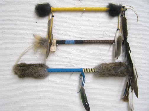 Ceremonial Talking Sticks