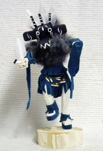 Navajo Made Three-Horn Warrior Kachina Doll