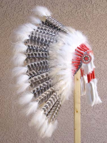 Barred Turkey Warbonnet