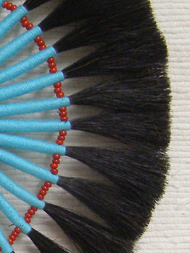 Horsehair Bustle-Turquoise