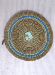 Chippewa Basket-Turquoise