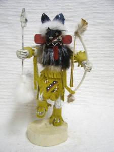 Navajo Made Warrior Kachina Doll