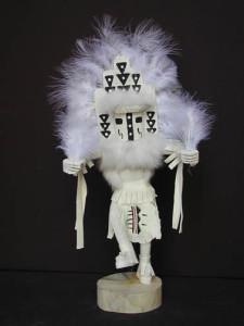 Navajo Made White Cloud Kachina Doll