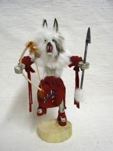 Navajo Made Wolf Kachina Doll