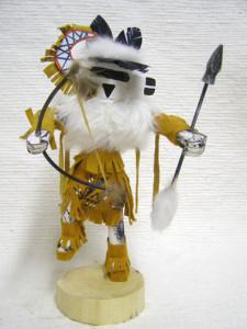 Navajo Made Zuni Rain Priest Kachina Doll