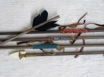 Handmade Beaded Arrows