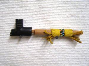 Pipestone 4 Winds Black Mini Pipe