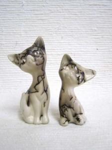 Ceramic Horsehair Sweet Cat