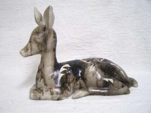 Ceramic Horsehair Doe