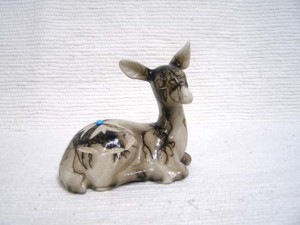 Ceramic Horsehair Small Fawn