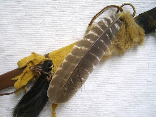 Apache Made Metal Hatchet with Wood Handle