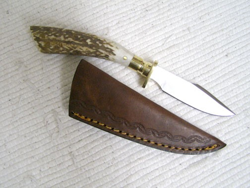 Beaded Knife Sheath-2