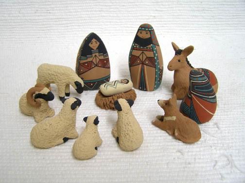 Debi Flanigan 12 pc Nativity