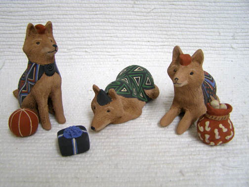 Coyote Nativity
