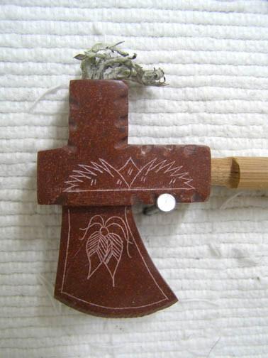 Pipestone Smoker Hawk Pipe